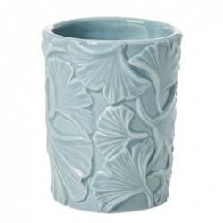 Porte brosse à dent - Rice - Ginkgo leaf - Winter sky blue