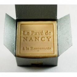 Savon - Pavé de Nancy - Huile essentielle de Bergamote - 80g