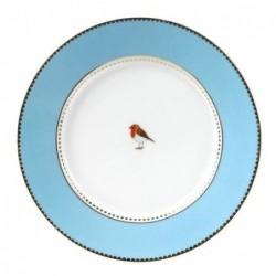 Assiette à dessert Pip Studio Love Birds -  bleue 17cm