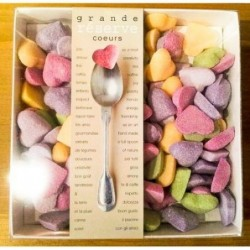 Coeurs en sucre - Belle de sucre - Grande Réserve - 300g