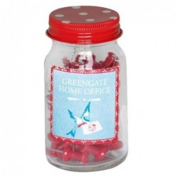 Punaises en bocal - Greengate - Red Simone