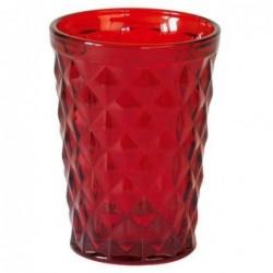 Verre Photophore - Greengate - Diamond Red