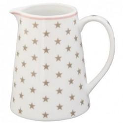 Crémier - Krasilnikoff - Blanc étoile taupe