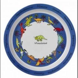 Assiette en mélamine - Dinosaures - Tyrell Katz