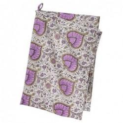 Torchon - Bungalow - leaf purple - 50x70