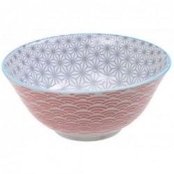 Bol Tayo - Tokyo Design -  Star Wave Grey Red