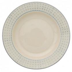 Assiette a soupe Elizabeth - Bloomingville - bleu - 25cm