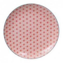 Assiette 26cm - Tokyo Design - Star Wave - Red Light Blue