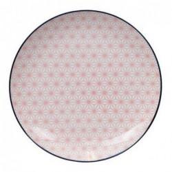 Assiette 26cm - Tokyo Design - Star Wave - Pink Dark Blue