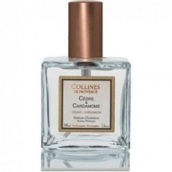 Parfum d'intérieur en spray - Cèdre & Cardamone - Collines de Provence - 100ml