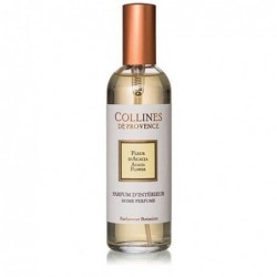 Parfum d'intérieur en spray - Fleur d'Acacia - Collines de Provence - 100ml
