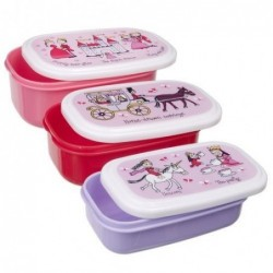 Lot de 3 boites alimentaires - princesse - Tyrell Katz