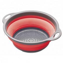 Passoire pliante à poignées - Kitchen Craft - Rouge