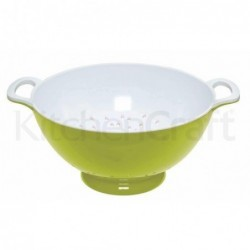 Passoire en mélamine - Kitchen Craft - Vert - 24cm - L