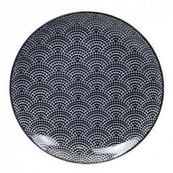 Assiette 20cm - Tokyo Design - Dot - Black