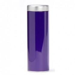 Boîte Thé - double couvercle 100g - Dammann Frères - Violette