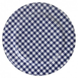 Assiette Sarah - At home with Mariecke - bleu - 17 cm