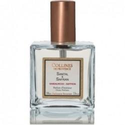 Parfum d'intérieur en spray - Santal & Safran - Collines de Provence - 100ml