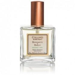 Parfum d'intérieur en spray - Bergamote & Basilic - Collines de Provence - 100ml