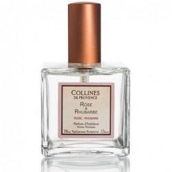 Parfum d'intérieur en spray - Rose & Rhubarbe - Collines de Provence - 100ml