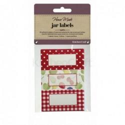 Étiquettes à confiture - Kitchen Craft - Verger