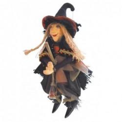 Sorcière - Witches of Pendle - Alice Nutter - Marron - 24 cm