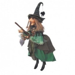 Sorcière - Witches of Pendle - Alice Nutter - Vert - 50 cm