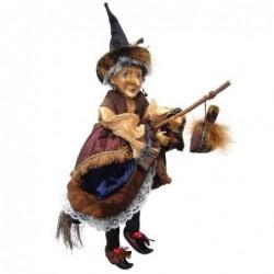 Sorcière - Witches of Pendle - Maureen - Marron - 50 cm