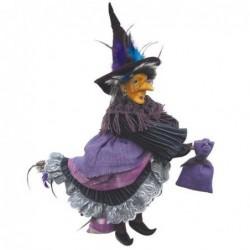 Sorcière - Witches of Pendle - Rowena - Violet - 35 cm