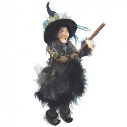 Sorcière - Witches of Pendle - Chattox - Or - 45 cm