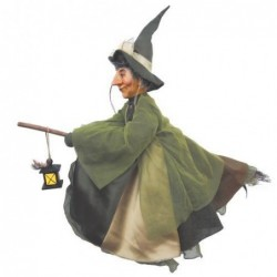 Sorcière - Witches of Pendle - Agatha - Vert - 50 cm