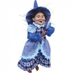 Sorcière - Witches of Pendle - Poppy - Bleu- 25 cm