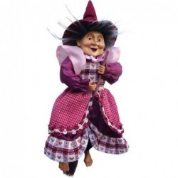 Sorcière - Witches of Pendle - Willow - Rouge - 25 cm