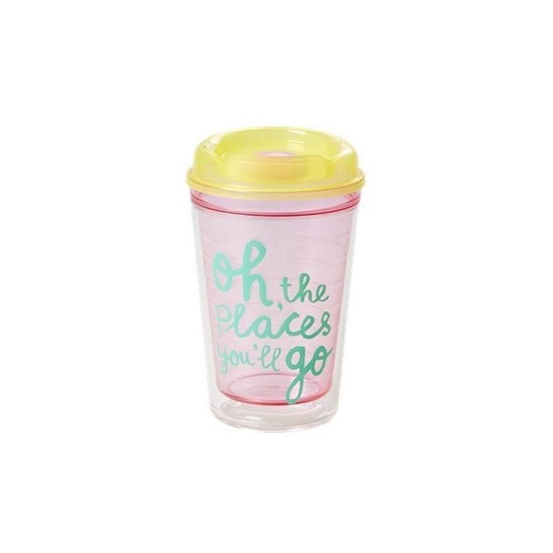 Mug Thermo - Rice - jaune