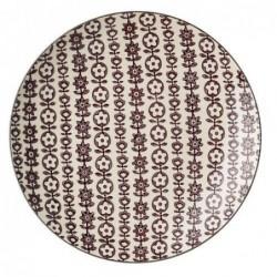 Assiette Karine  - Bloomingville - Purple - 20cm