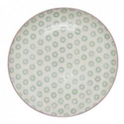 Assiette Patrizia  - Bloomingville - Vert - 25cm