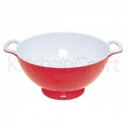 Passoire en mélamine - Kitchen Craft - Rouge - 24cm - L