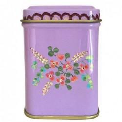 Boite à thé - Rice - Purple flowers