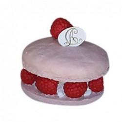Pâtisserie décorative - Macaron framboise - Chic Antique