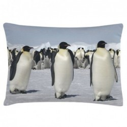 Coussin - Bloomingville - Pingouins