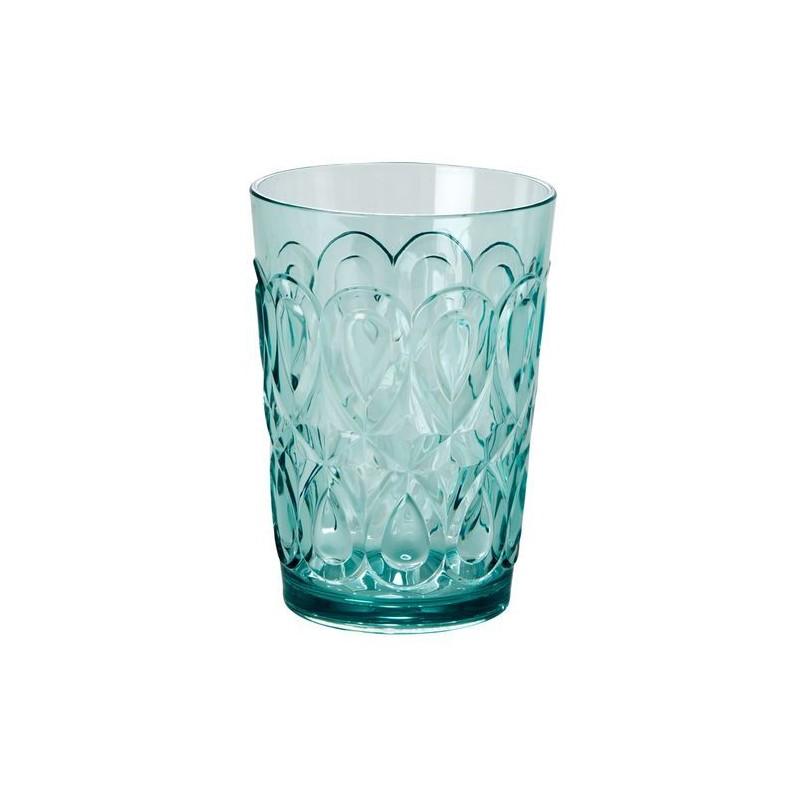 Verre à eau - Rice - Acrylique - Bleu