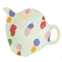 Coupelle à sachet de thé - Mélamine Rice - Dapper Dot