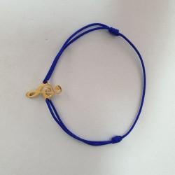 Bracelet Clé de Sol - Bleu roi - Nusa Dua
