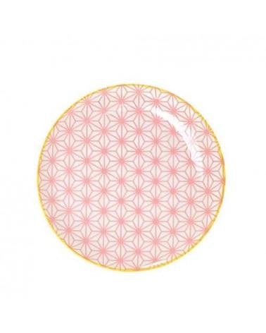 Assiette à dessert 16cm - Tokyo Design - Star Wave pink