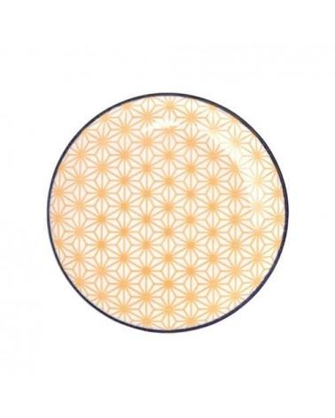 Assiette à dessert 16cm - Tokyo Design - Star Wave Yellow