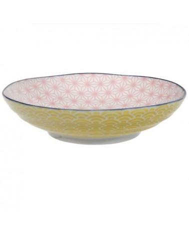 Assiette creuse - Tokyo Design - Star Wave Pink