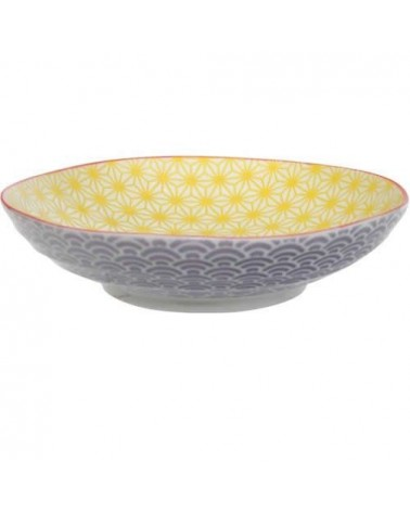 Assiette creuse - Tokyo Design - Star Wave Yellow