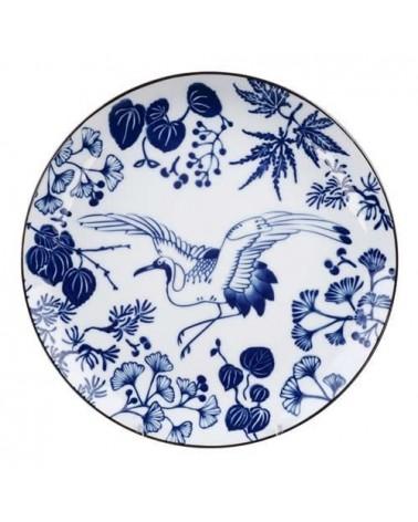 Assiette 25.7cm - Tokyo Design - Flora Japonica - Crane