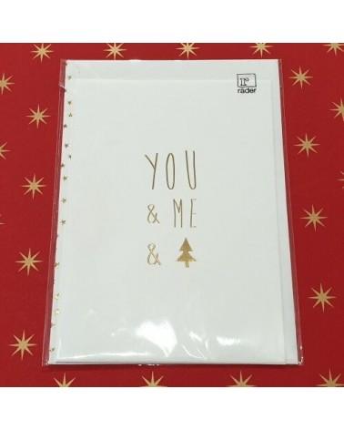 Carte de Noël - You & Me Christmas - Rader