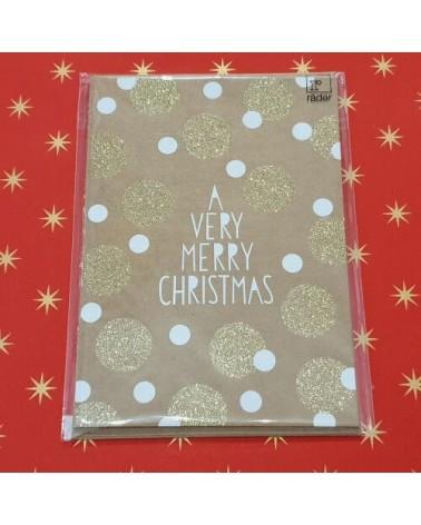 Carte de Noël - A Very Merry Christmas - Rader